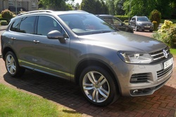Mobile Car Valeting Houston - VW Touareg - Maintenance Valet