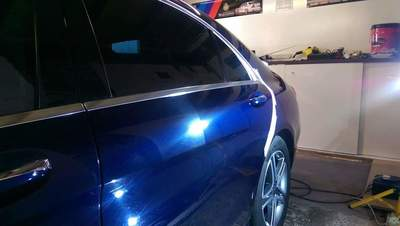 Mercedes S-Class - Stage Two Paint Correction & KubeBond Diamond 9H Ceramic Coating